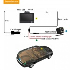 "Car DVR Cam 960P HD 3 Channel Car Dashbord Camera, 140 Degree Wide Angle Car Recorder with 4"" IPS Display, G-Sensor, HDR"