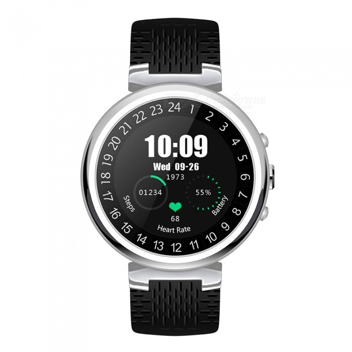 JSBP I6 Android 5.1 3G Smart Watch Phone w/ 2GB RAM 16GB ROM, Camera, MTK6580 Quad-core, GPS, WiFi, Heart Rate Monitor - SilverSmart Watches<br>Form  ColorSilverModelI6Quantity1 setMaterialKirsite + CalfskinShade Of ColorSilverCPU ProcessorMTK6580 quad-core 1.3GHzScreen Size1.3 inchScreen Resolution240*240Touch Screen TypeCapacitive ScreenNetwork Type2G,3GCellularWCDMA,GSMSIM Card TypeNano SIMBluetooth VersionBluetooth V4.0Operating SystemAndroid 5.1Compatible OSAndroid&amp;IOS OSLanguageIndonesia, German, English, Spanish, French, Italian, Polish, Portuguese (Brazil), Portugal, Vietnam, Turkey, Russian, Hebrew, Arabic, Persia, India, Bangladesh, Thai, Myanmar (Burma), Korean, JapanWristband Length195 cmWater-proofOthers,IPX5Battery ModeNon-removableBattery TypeLi-ion batteryBattery Capacity400 mAhStandby Time48 hourOther FeaturesAndroid 5.1, compatible with both Android phones (4.4 or above) and iOS phones (9.0 or above)Form  ColorSilverPacking List1 x I6 Smart Watch1 x USB Charging Cable1 x Screwdriver1 x English User Manual1 x SIM card plug-in tool<br>