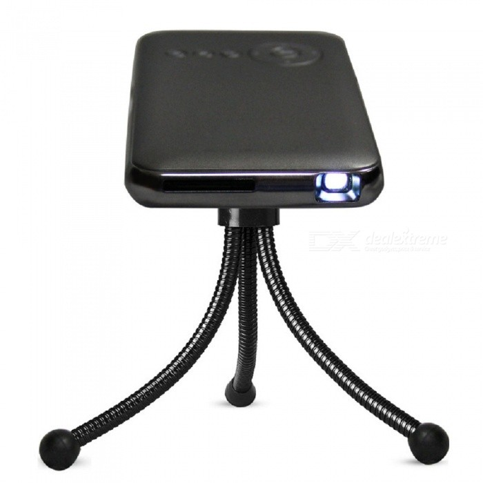 DL-S6+ Portable Mini HD 150LM Phone Projector with Android System