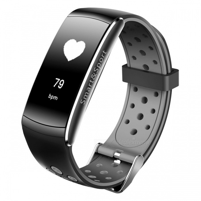 Z11 Waterproof Smart Bluetooth Sports Wristband Bracelet with Caller ID Alert, Heart Rate Monitor