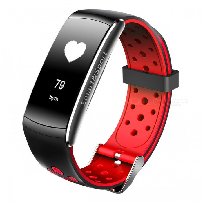 Z11 Waterproof Smart Bluetooth Sports Wristband Bracelet with Caller ID Alert, Heart Rate Monitor - RedSmart Bracelets<br>Form  ColorRedModelZ11Quantity1 DX.PCM.Model.AttributeModel.UnitMaterialTPUShade Of ColorRedWater-proofIP68Bluetooth VersionBluetooth V4.0Touch Screen TypeAMOLEDOperating SystemAndroid 4.4,iOSCompatible OSAndroid  iOSBattery Capacity90 DX.PCM.Model.AttributeModel.UnitBattery TypeLi-polymer batteryStandby Time10 DX.PCM.Model.AttributeModel.UnitPacking List1 x Cable1 x Instruction1 x Smart Bracelet<br>