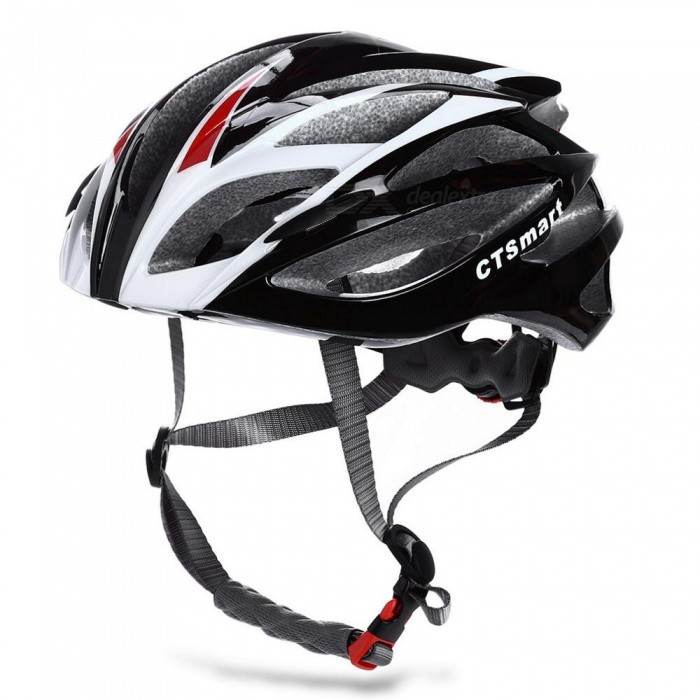 CTSmart Multi-Functional Integrated Molding Lightweight Breathable Safety Helmet - Black