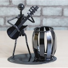 Music-Iron-Man-Model-Pen-Holder-Metal-Crafts-for-Decoration-Student-Birthday-Gift