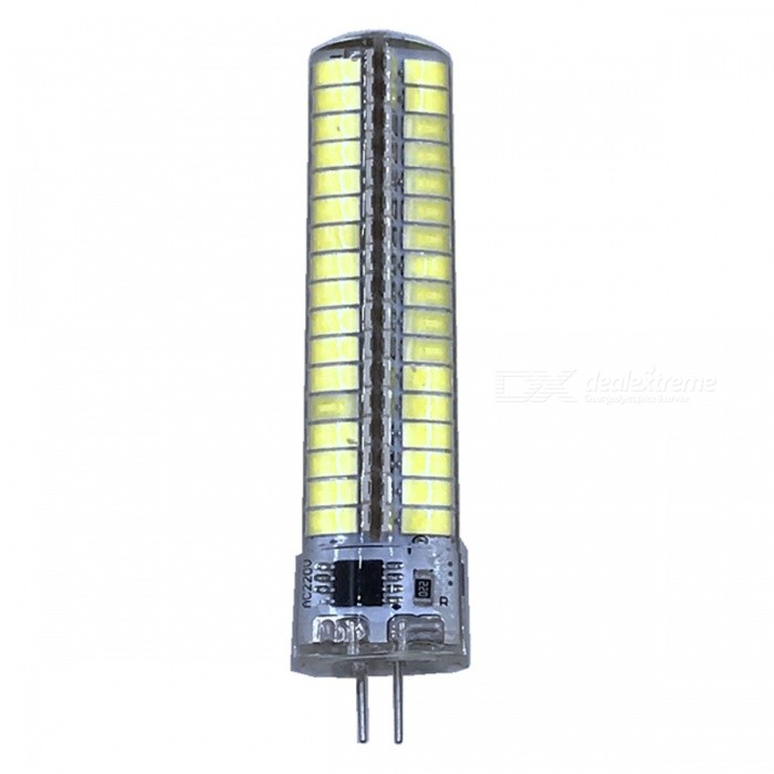 ZHAOYAO G4 7W AC 220-240V 5730 SMD 136-LED Dimmable Light Bulb - WhiteOther Connector Bulbs<br>Color BING4-Cold White ModelG4-WMaterialPCBForm  ColorWhiteQuantity1 DX.PCM.Model.AttributeModel.UnitPower7WRated VoltageAC 220-240 DX.PCM.Model.AttributeModel.UnitConnector TypeG4Chip BrandOthers,LEDChip Type5730Emitter TypeOthers,5730SMD LEDTotal Emitters136Actual Lumens0-700 DX.PCM.Model.AttributeModel.UnitColor Temperature6000KDimmableYesBeam Angle360 DX.PCM.Model.AttributeModel.UnitOther FeaturesColor Temperature: 5500-7000KPacking List1 x LED Bulb<br>