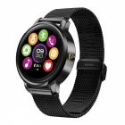 "1.22"" Smart Watch with Heart Rate Monitor, Pedometer, Camera Remote Control - Black"