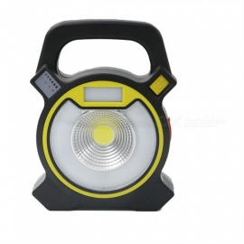 P-TOP-Portable-Handheld-300LM-Cold-White-COB-Lamp-USB-Rechargeable-Work-Light-Camping-Lantern-Yellow-2b-Black