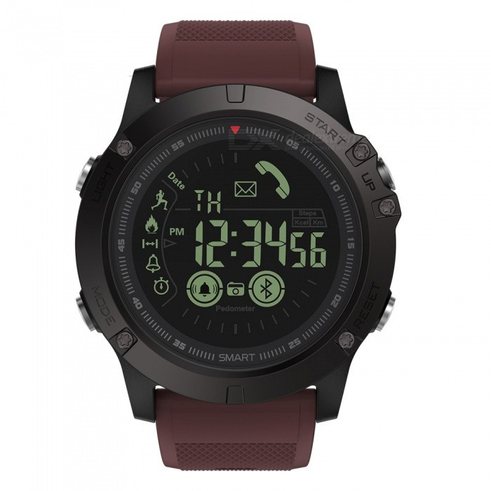 Zeblaze VIBE3 1.24 Smart Watch with All-Day Activity Record, Sport Reminder, Remote Camera for iOS Android - RedSmart Watches<br>Form  ColorRedModelVIBE3Quantity1 DX.PCM.Model.AttributeModel.UnitMaterialDLCDrilling Carbon CoatingShade Of ColorRedCPU ProcessorNOScreen Size1.24 DX.PCM.Model.AttributeModel.UnitScreen ResolutionNOBluetooth VersionBluetooth V4.0Operating SystemAndroid 4.4,iOSCompatible OSAndroid, IOSLanguageEnglishWristband Length15 DX.PCM.Model.AttributeModel.UnitWater-proofIP67Battery ModeNon-removableBattery TypeOthers,CR2450 (Japan Maxell)Battery Capacity610 DX.PCM.Model.AttributeModel.UnitStandby Time540 DX.PCM.Model.AttributeModel.UnitPacking List1 x Zebalze VIBE 3 Sport Smart Watch1 x User Manual (English) 1 x Screwdriver1 x Gift Box<br>