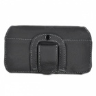 Ismartdigi Cowhide Leather Full Body Case for Samesung S7 G9300 - Black
