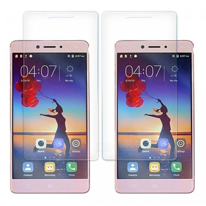 Naxtop Tempered Glass Screen Protector for Lenovo K6 Note - Transparent (2 PCS)