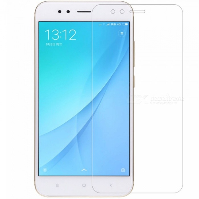 Buy Naxtop Tempered Glass Screen Protector for Xiaomi Mi A1 - Transparent (2 PCS) with Litecoins with Free Shipping on Gipsybee.com