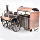 Creative European Vintage Style Iron Metal Steam Locomotive Model Craft, Home Decorative Ornament