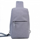 OSOCE B18 Casual Polyester 10L Sport Outdoor Backpack Crossbody Shoulder Bag for Men - Grey