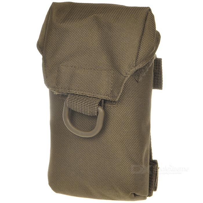 Buy Adder Multi-Service Small Pouch - Brown with Litecoins with Free Shipping on Gipsybee.com