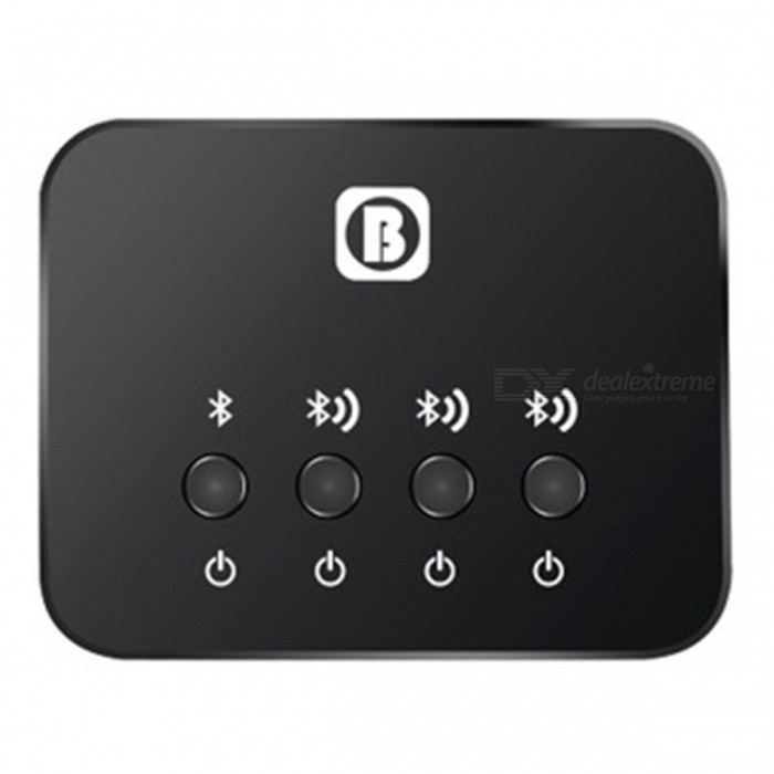 Portable Mini USB Bluetooth Audio Transmitter w/ High-Fidelity Stable Transmission, Multiple People Sharing
