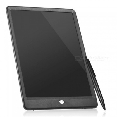 """10"""" LCD Writing Tablet Drawing Board, Paperless Digital Notepad, Supports Clear Screen Lock - Black"""