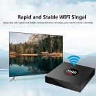 M9S K3 Android Smart TV Box RK3229 Quad-Core 4K Network Player Set Top Box with 2GB RAM, 8GB ROM - US Plug
