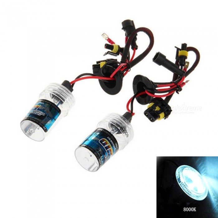 H7 12V 35W 8000K 3500LM Car HID Xenon Headlight Headlamp - Cold WhiteHeadlights<br>Color Temperature8000KModelH7Quantity1 DX.PCM.Model.AttributeModel.UnitMaterialPlastic + quartz tubeForm  ColorBlack + Red + Multi-ColoredTypeHID LampCompatible Car ModelSuitable for all cars with H7 interfaceTypeACInput Voltage9~16 DX.PCM.Model.AttributeModel.UnitRate Voltage12VOutput Power35 DX.PCM.Model.AttributeModel.UnitColor BINCold WhiteTheoretical Lumens3500 DX.PCM.Model.AttributeModel.UnitActual Lumens3500 DX.PCM.Model.AttributeModel.UnitLife Span30000 DX.PCM.Model.AttributeModel.UnitSocket TypeH7Packing List2 x Car headlights<br>