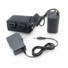 4-x-18650-84V-5200mAh-Rechargeable-Waterproof-Battery-Pack-with-Charger-Black