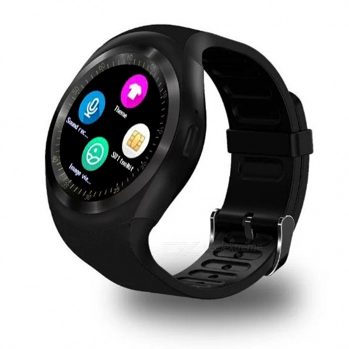 DMDG 1.54 Touch Screen Smart Watch with Fitness Activity Tracker, Sleep Monitor, Pedometer, Calories Track - TarnishSmart Watches<br>Form  ColorTarnishModelN/AQuantity1 DX.PCM.Model.AttributeModel.UnitMaterialAlloy + silicone + ABSShade Of ColorBlackCPU ProcessorMTK6261DScreen Size1.54 DX.PCM.Model.AttributeModel.UnitScreen Resolution240*240Touch Screen TypeIPSNetwork Type2GCellularGSMSIM Card TypeNano SIMBluetooth VersionBluetooth V3.0Compatible OSiOS, AndroidLanguageSimplified Chinese, EnglishWristband Length24 DX.PCM.Model.AttributeModel.UnitWater-proofOthers,Life waterproofBattery ModeReplacementBattery TypeLi-ion batteryBattery Capacity280 DX.PCM.Model.AttributeModel.UnitStandby Time180 DX.PCM.Model.AttributeModel.UnitPacking List1 x Smart Watch1 x User Manual1 x Charging Cable<br>
