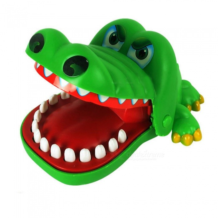 Creative Funny Crocodile Bites Game Puzzle Toy for Children - Green + MulticolorEducational Toys<br>Form  ColorGreen + MulticoloredMaterialABS plasticQuantity1 pieceSuitable Age 0-3 months,3-6 months,6-9 months,9-12 months,13-24 monthsPacking List1 x Crocodile toy1 x Color box<br>