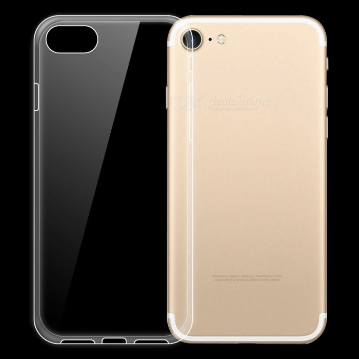 Dayspirit Ultra-Thin Protective TPU Back Case for IPHONE 7 IPHONE 8 - Transparent