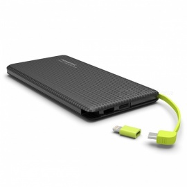 Ugreen-Portable-Thin-Slim-Dual-USB-10000mAh-Power-Bank-External-Battery-Powerbank-with-Charging-Cable-for-Mobile-Phones-Black
