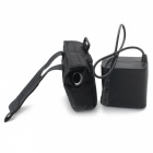 8 x 18650 8.4V 8800mAh Rechargeable Waterproof Battery Pack with Charger - Black