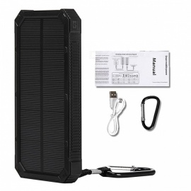 Tollcuudda-Portable-10000mAh-Mobile-Solar-Powerbank-Power-Bank-External-Battery-Charger-for-Xiaomi-IPHONE-and-More-Phones-Black