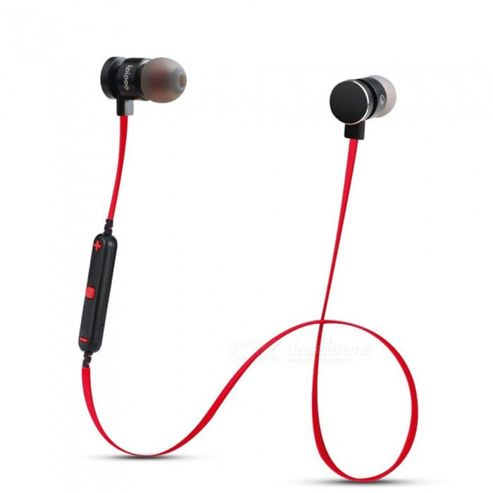 ZHAOYAO Bluetooth V4.2 Wireless In-Ear Sport Earphone Earbuds Headset with Microphone for IPHONE Xiaomi Mobile Phone - RedHeadphones<br>Form  ColorBlack + Red + Multi-ColoredBrandOthers,ZHAOYAOMaterialPlasticQuantity1 DX.PCM.Model.AttributeModel.UnitConnectionBluetoothBluetooth VersionBluetooth V4.2Headphone StyleBilateral,Earbud,In-Ear,Ear-hookWaterproof LevelIPX0 (Not Protected)Applicable ProductsUniversalHeadphone FeaturesWith Microphone,Lightweight,Portable,For Sports &amp; ExerciseRadio TunerNoSupport Memory CardNoSupport Apt-XYesBattery TypeOthers,-Packing List1 x Wireless Bluetooth Headphone<br>
