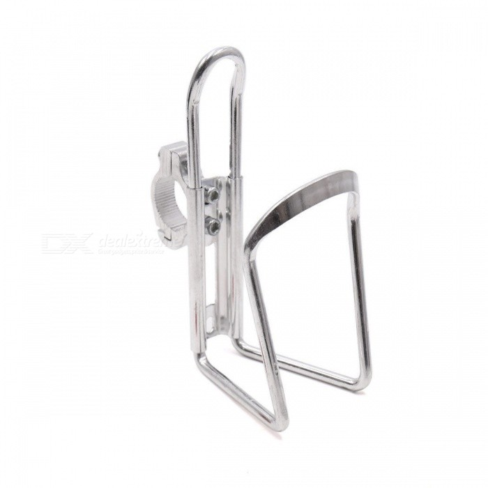 CARKING Aluminum Alloy Bicycle Water Bottle Rack Holder, Mountain Bike Water Cup Can Cage Bracket - SilverBike Holder<br>Form  ColorSilverQuantity1 pieceMaterialAluminum AlloyBest UseCycling,Mountain Cycling,Recreational Cycling,Road Cycling,Triathlon,Bike commuting &amp; touringTypeWater Bottle CagesPacking List1 x Bicycle Water Bottle Holder<br>