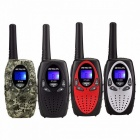 Mini-Walkie-Talkie-Kids-Radio-RETEVIS-RT628-05W-UHF-Frequency-Portable-Ham-Radio-Hf-Transceiver-(Pair)-Black-Europe
