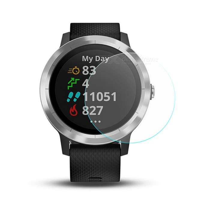 Hat-Prince Ultra Thin Clear Tempered Glass Screen Protector Film for Garmin Vivoactive 3