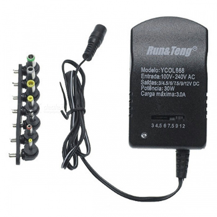 30W-Adjustable-Voltage-Charger-Universal-DC-Power-Switch-Adapter-3V-12V-Power-Supply