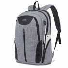 DTBG-173-Inches-Laptop-Backpack-Travel-Water-Resistant-Professional-Bag-with-USB-Charging-Port-for-Laptop-Grey