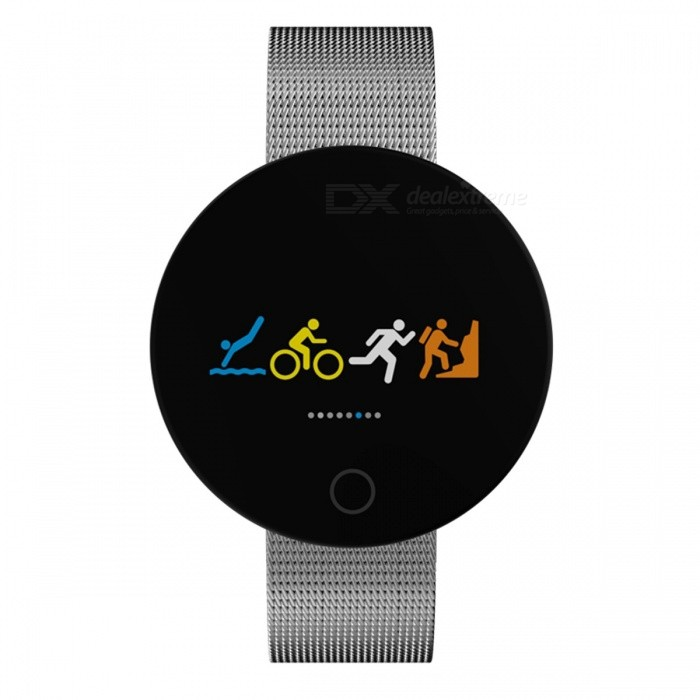 007 Pro Bluetooth V4.0 Android Smart Watch Bracelet Fitness Tracker with Heart Rate Monitor - Silver + BlackSmart Bracelets<br>Form  ColorSilverQuantity1 DX.PCM.Model.AttributeModel.UnitMaterialABSShade Of ColorSilverWater-proofIP67Bluetooth VersionBluetooth V4.0Touch Screen TypeYesCompatible OSAndroid 4.4 and above, IOS 8.0 or above, supports Bluetooth 4.0Battery Capacity90 DX.PCM.Model.AttributeModel.UnitBattery TypeLi-polymer batteryStandby Time5-7 DX.PCM.Model.AttributeModel.UnitPacking List1 x Smart Watch1 x Charging Cable 1 x User Manual<br>