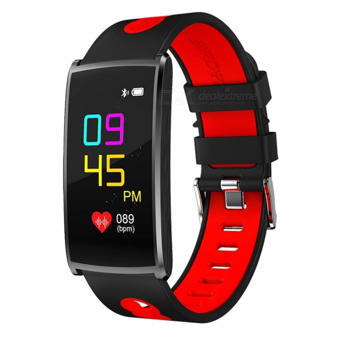 N68 Sports Waterproof Smart Bracelet Wristband with Blood Oxygen Blood Pressure Heart Rate Monitor - Red + BlackSmart Bracelets<br>Form  ColorRed + BlackQuantity1 DX.PCM.Model.AttributeModel.UnitMaterialABSShade Of ColorRedWater-proofIP67Bluetooth VersionBluetooth V4.0Touch Screen TypeYesCompatible OSAndroid 4.4 or above, IOS 8.0 or aboveBattery Capacity60 DX.PCM.Model.AttributeModel.UnitBattery TypeLi-polymer batteryStandby Time5-7 DX.PCM.Model.AttributeModel.UnitPacking List1 x Smart Watch1 x Charging Cable 1 x User Manual<br>