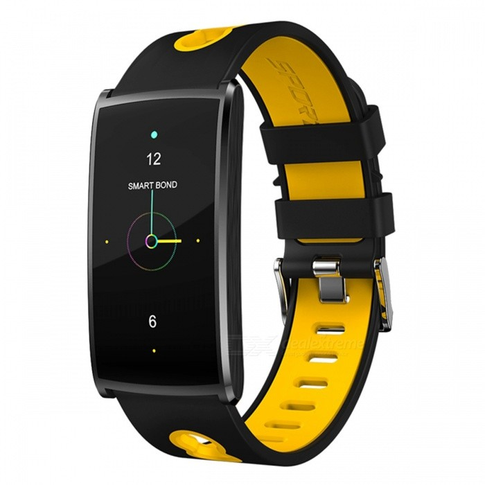 N68 Sports Waterproof Smart Bracelet Wristband with Blood Oxygen Blood Pressure Heart Rate Monitor - Orange + BlackSmart Bracelets<br>Form  ColorOrange + BlackQuantity1 DX.PCM.Model.AttributeModel.UnitMaterialABSShade Of ColorOrangeWater-proofIP67Bluetooth VersionBluetooth V4.0Touch Screen TypeYesCompatible OSAndroid 4.4 or above, IOS 8.0 or aboveBattery Capacity60 DX.PCM.Model.AttributeModel.UnitBattery TypeLi-polymer batteryStandby Time5-7 DX.PCM.Model.AttributeModel.UnitPacking List1 x Smart Watch1 x Charging Cable 1 x User Manual<br>