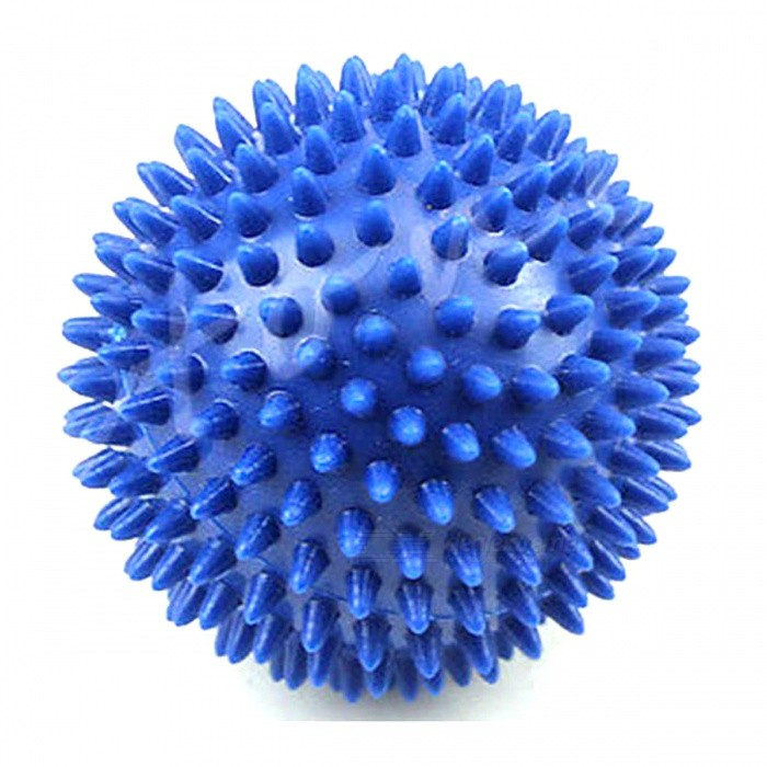 ZHAOYAO U119 9cm Footful Spiky Massage Ball, Trigger Point Sport Fitness Hand Foot Massager for Pain ReliefRelax and Massagers<br>Form  ColorBlueMaterialPVCQuantity1 pieceShade Of ColorBlueMassager Part-Principle of Massage-Control Mode-Number of Massage Heads1 pieceThermotherapy FunctionNoTiming FunctionNoDigital Strength ShowsNoBattery included or notNoPower SupplyOthers,-Power AdapterOthers,-Power- WPacking List1 x Massage Ball<br>