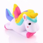 P15 13.5cm Simulation Flying Unicorn Pony Horse Squishy Toy Slow Rising Squeeze Doll