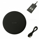 Ismartdigi-i-N5-Wireless-Super-Slim-Fast-Charger-Set-for-Samsung-S45678-Mobile-Devices-Black