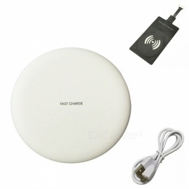 Ismartdigi-i-N5-Wireless-Super-Slim-Fast-Charger-Set-for-Samsung-S45678-Mobile-Devices-White
