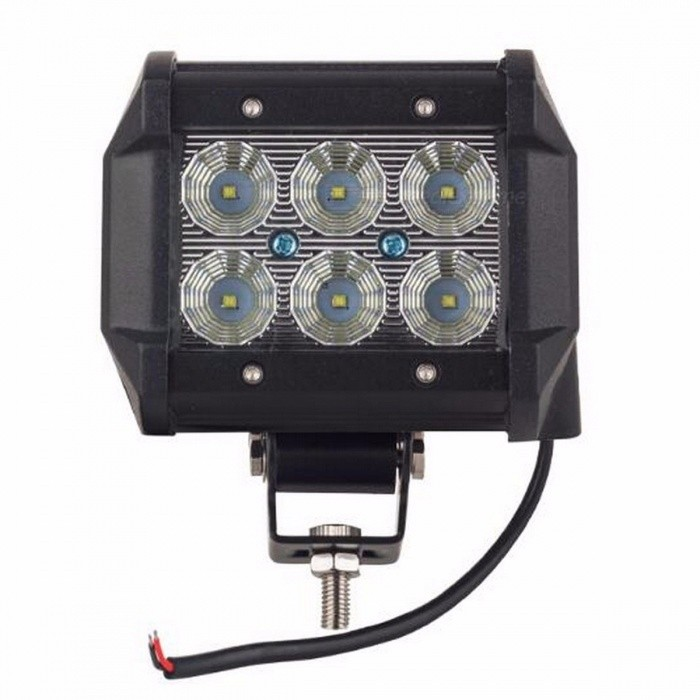 Buy IP67 Waterproof Cree 18W 4 Inches Light Bar Work Lamp, Spotlight for 12V 4x4 Offroad ATV Truck Boat UTV SPOT with Litecoins with Free Shipping on Gipsybee.com