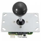 USB-DIY-Handle-Arcade-Kit-with-24mm-30mm-Buttons-5-Pin-Joystick-USB-Cable-Encoder-Card-Black