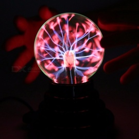Fantasy Sorcery Flash Ball Magic USB Plasma Ball Antistress Tricks Gadget Toy Halloween Shocker Funny Gift for Children Colorful
