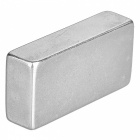 40*20*10mm Rectangular Strong NdFeB Magnet - Silver