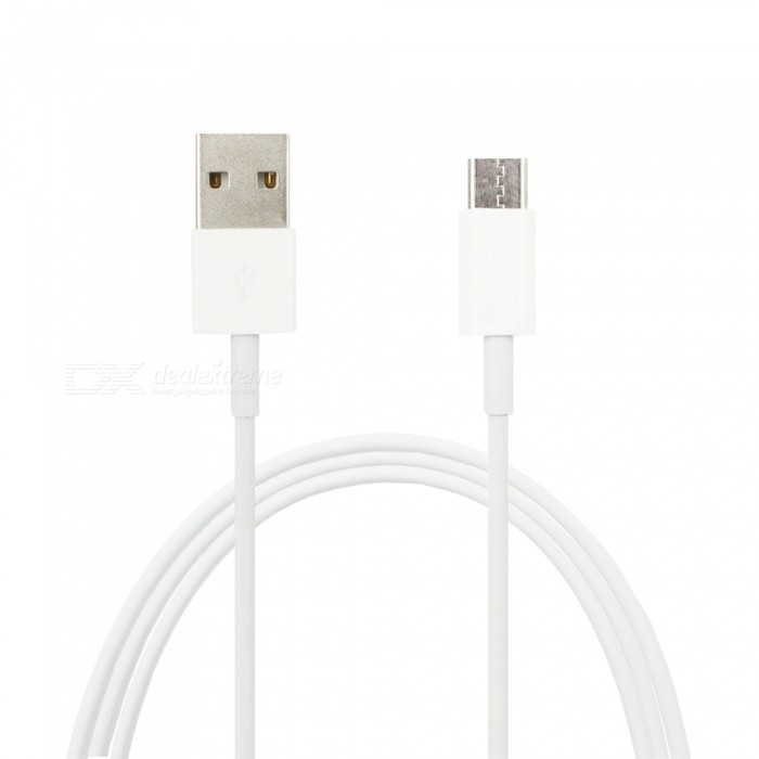 Mini Smile 200cm Fast Speed USB 3.1 Type-C Male to USB Male Data Transfer / Charging Cable - White
