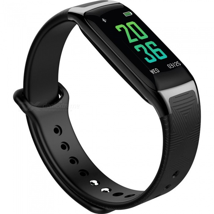 W18 Bluetooth Smart Bracelet with Heart Rate Blood Oxygen Blood Pressure Sleep Monitoring - BlackSmart Bracelets<br>Form  ColorBlackModelW18Quantity1 DX.PCM.Model.AttributeModel.UnitMaterialTPUShade Of ColorBlackWater-proofIP67Bluetooth VersionBluetooth V4.0Touch Screen TypeIPSOperating SystemAndroid 4.4,iOSCompatible OSAndroid IOSBattery Capacity90 DX.PCM.Model.AttributeModel.UnitBattery TypeLi-polymer batteryStandby Time30 DX.PCM.Model.AttributeModel.UnitPacking List1 x Smart Bracelet1 x Charging Cable1 x User Manual<br>
