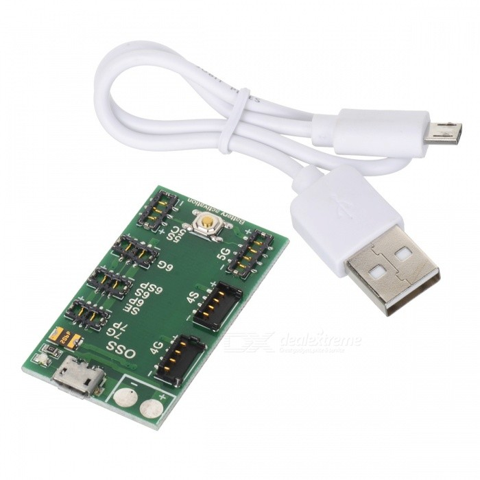 OJADE Battery Charging Board Module with Micro USB Cable for IPHONE 7P 6s 6 Plus 5s 5 4s