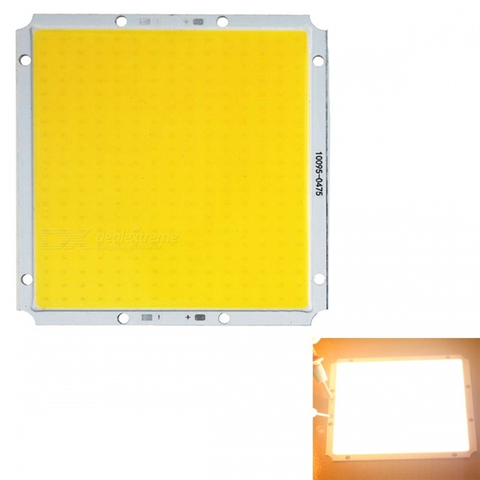 JRLED Super Bright 100 x 95mm 60W 300-COB Warm White LED Module (DC 12V )
