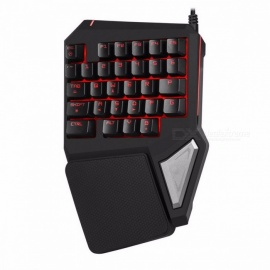 Delux-T9-Pro-Professional-Portable-Mini-Wired-Gaming-Backlit-Single-Hand-30-Key-Ergonomic-Keypad-Black